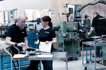 Top news from our in-house machine shop